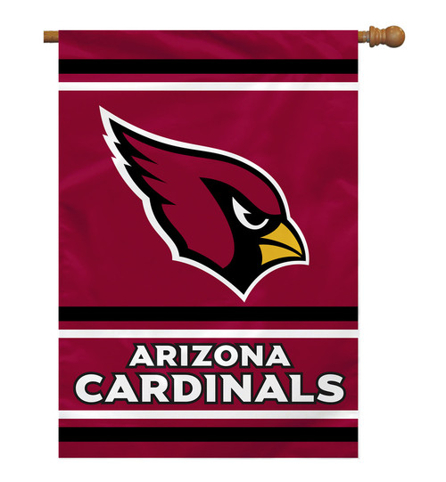 Arizona Cardinals Banner 28x40 House Flag Style 2 Sided CO