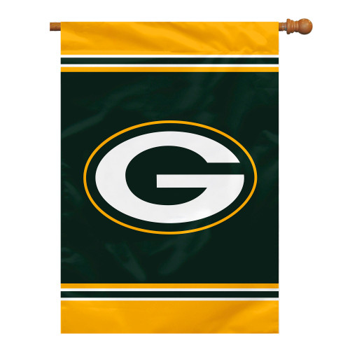 Green Bay Packers Flag 28x40 House 1-Sided CO