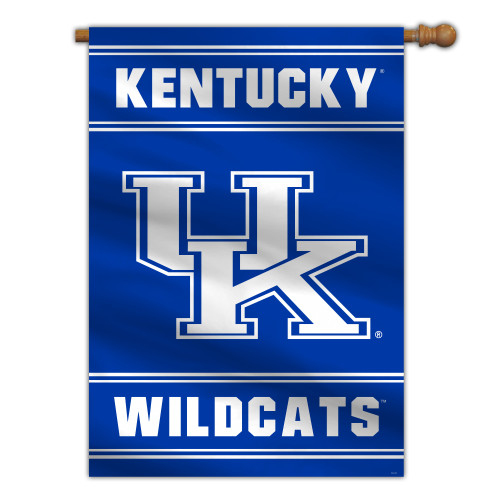 Kentucky Wildcats Banner 28x40 House Flag Style 2 Sided CO