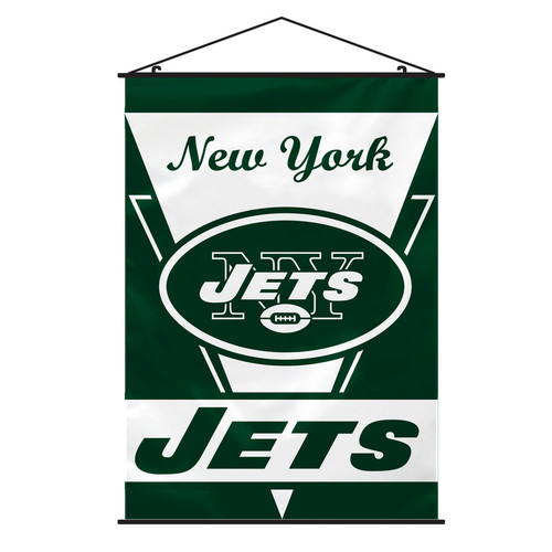 New York Jets Banner 28x40 Wall Style CO