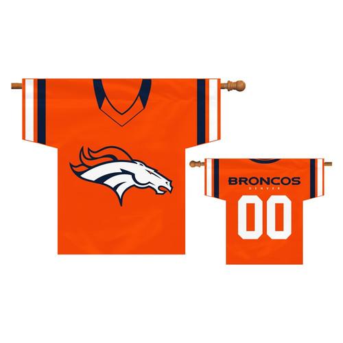 Denver Broncos Flag Jersey Design CO