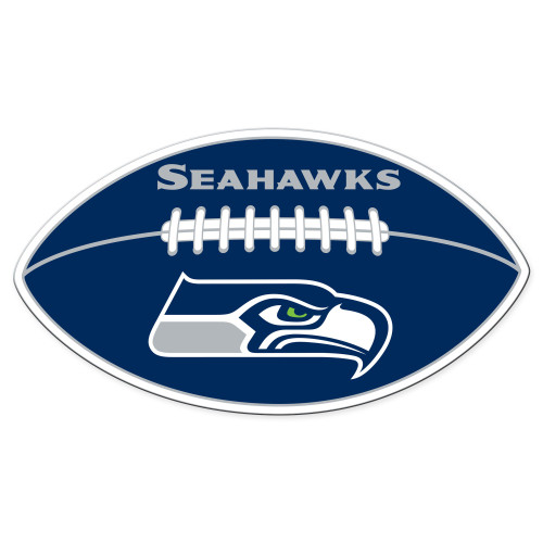 Seattle Seahawks Magnet Car Style 12 Inch Football Design CO