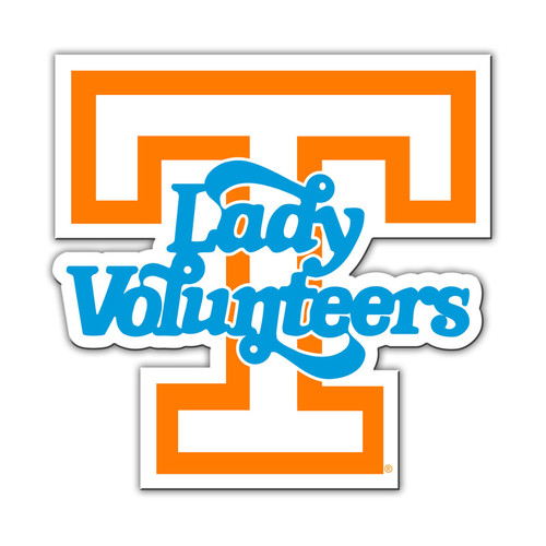 Tennessee Volunteers Magnet Car Style 12 Inch Lady Vols Design CO