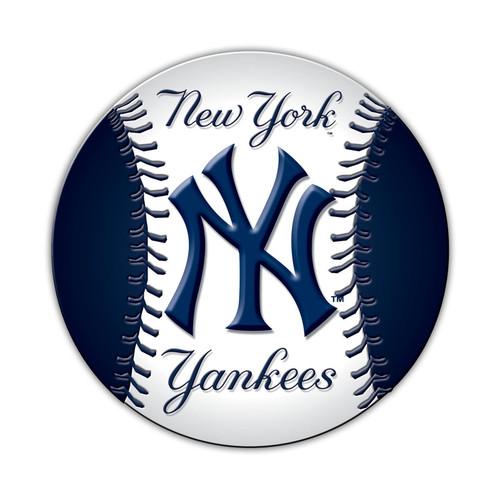 New York Yankees Magnet Car Style 8 Inch