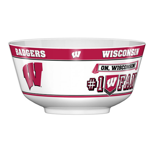 Wisconsin Badgers Party Bowl All Pro CO