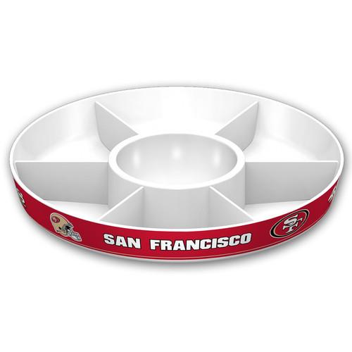 San Francisco 49ers Party Platter CO