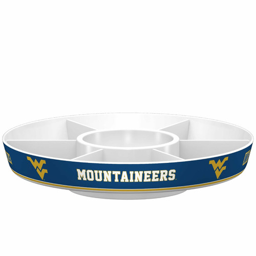 West Virginia Mountaineers Party Platter CO
