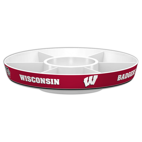 Wisconsin Badgers Party Platter CO