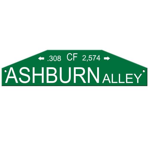 Philadelphia Phillies Sign 4x24 Plastic Street Style Ashburn Alley CO