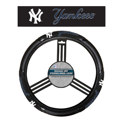 New York Yankees Steering Wheel Cover Massage Grip Style CO