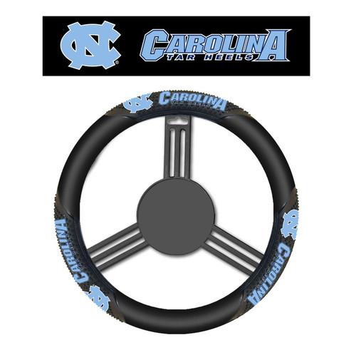 North Carolina Tar Heels Steering Wheel Cover Massage Grip Style CO