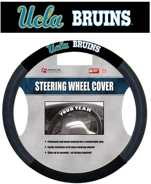 UCLA Bruins Steering Wheel Cover Mesh Style