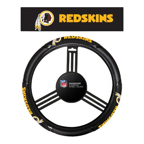 Washington Redskins Steering Wheel Cover Massage Grip Style CO