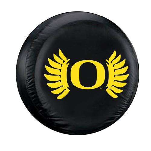 Oregon Ducks Tire Cover Large Size Wing Design CO