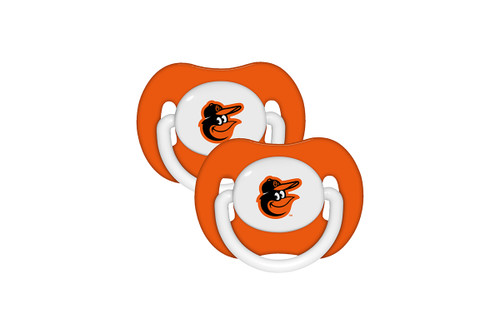 Baltimore Orioles Pacifier 2 Pack