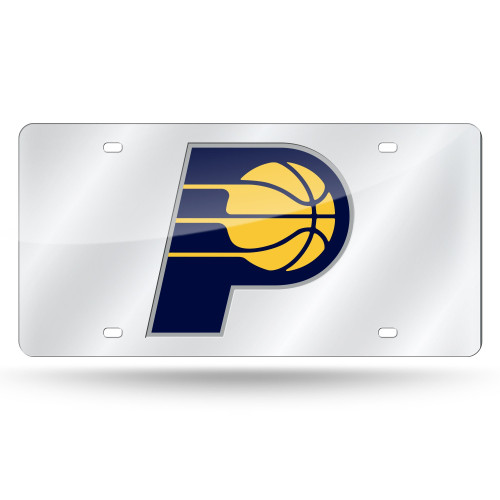 Indiana Pacers Silver Laser Tag - Special Order