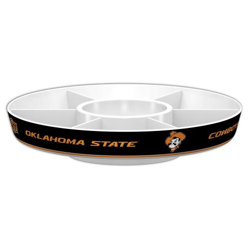 Oklahoma State Cowboys Party Platter Alternate CO