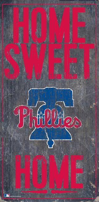 Philadelphia Phillies Sign Wood 6x12 Home Sweet Home Design