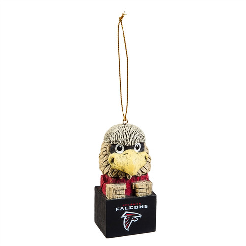 Atlanta Falcons Ornament Tiki Design Special Order