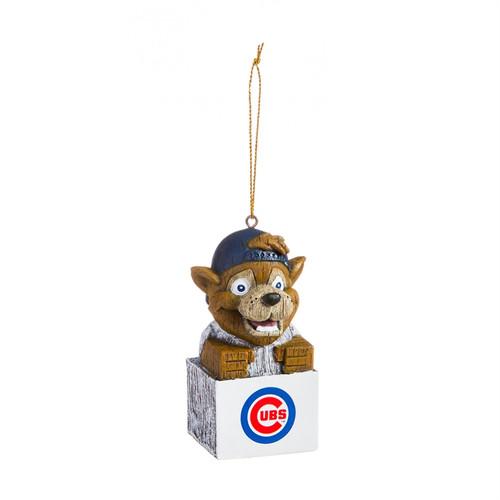 Chicago Cubs Ornament Tiki Design Special Order