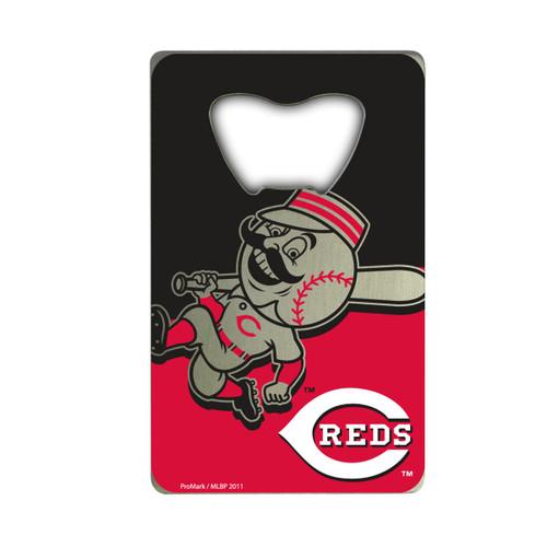 Cincinnati Reds Bottle Opener Credit Card Style Special Order