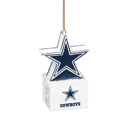 Dallas Cowboys Ornament Tiki Design Star Special Order