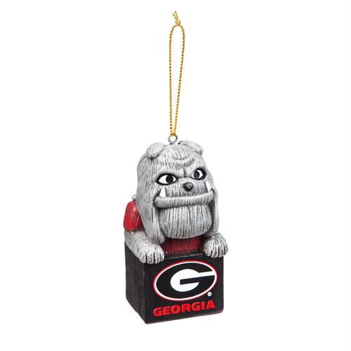 Georgia Bulldogs Ornament Tiki Design Special Order