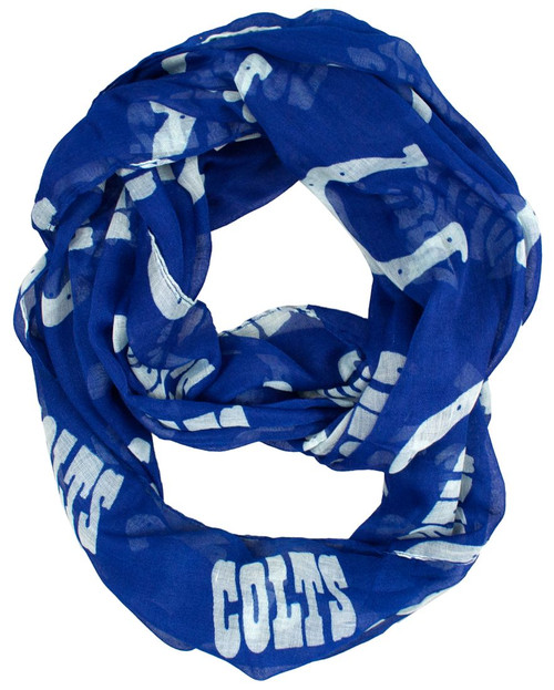 Indianapolis Colts Scarf Infinity Style