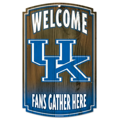 Kentucky Wildcats Sign 11x17 Wood Special Order