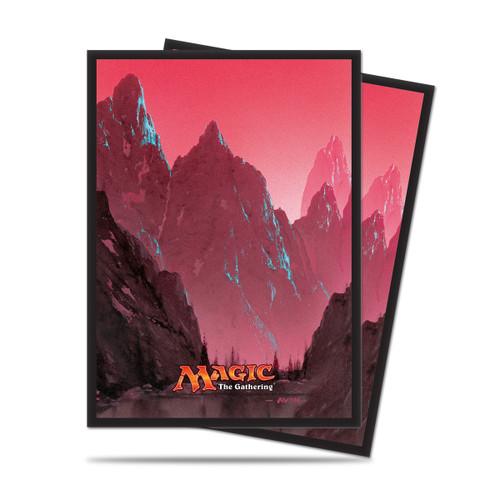 Magic Deck Protector - Mana #5 Mountain (Red)