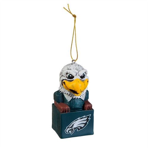 Philadelphia Eagles Ornament Tiki Design Special Order