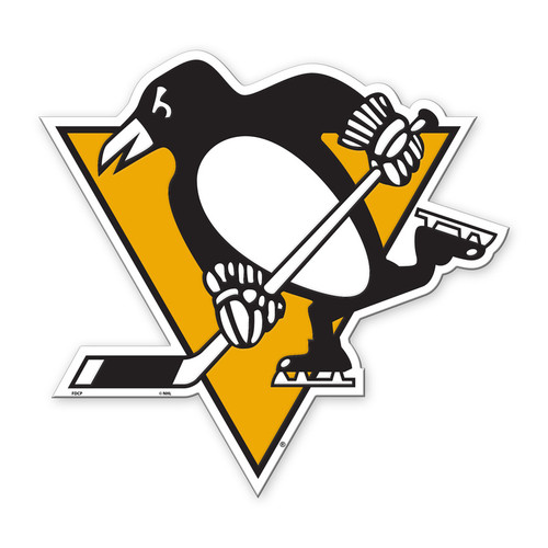 Pittsburgh Penguins Magnet Car Style 12 Inch Special Order