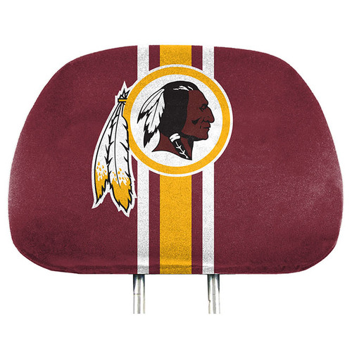 Washington Redskins Headrest Covers Full Printed Style Special Order
