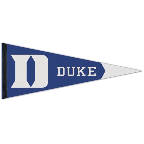 Duke Blue Devils Pennant 12x30 Premium Style Special Order
