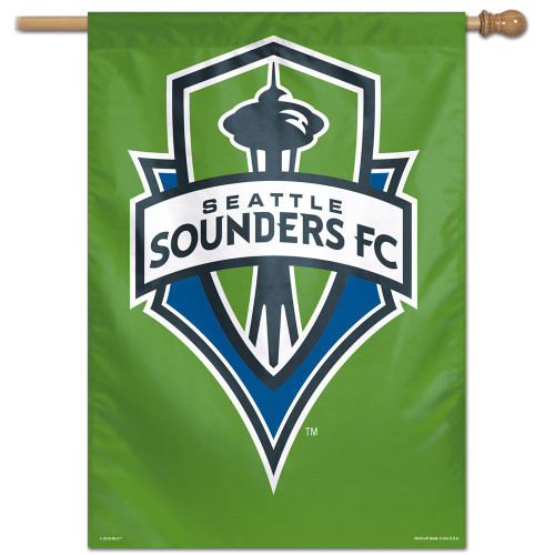 Seattle Sounders Banner 28x40 Vertical Special Order