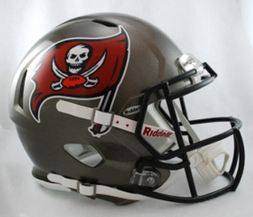 Tampa Bay Buccaneers Helmet Riddell Authentic Full Size Speed Style 1997-2013 Throwback Special Order