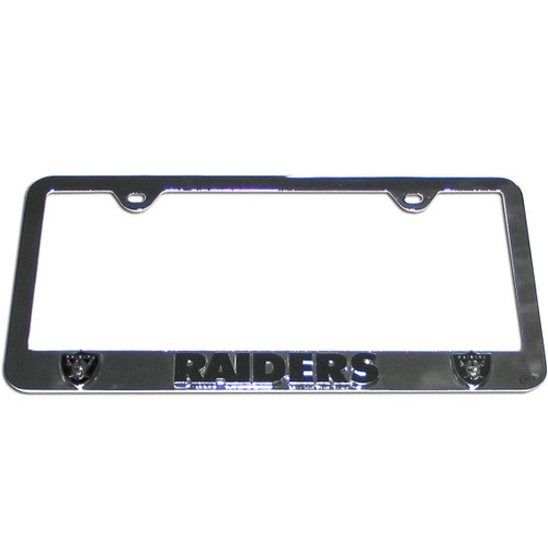 Las Vegas Raiders License Plate Frame