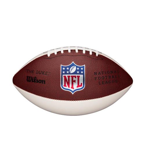 Football Wilson 3 White Panel NFL The Duke
