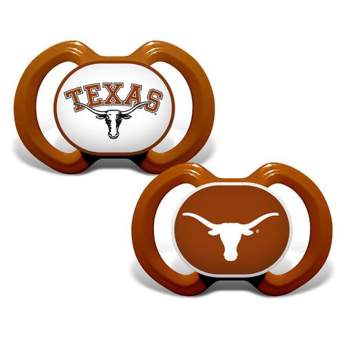 Texas Longhorns Pacifier 2 Pack