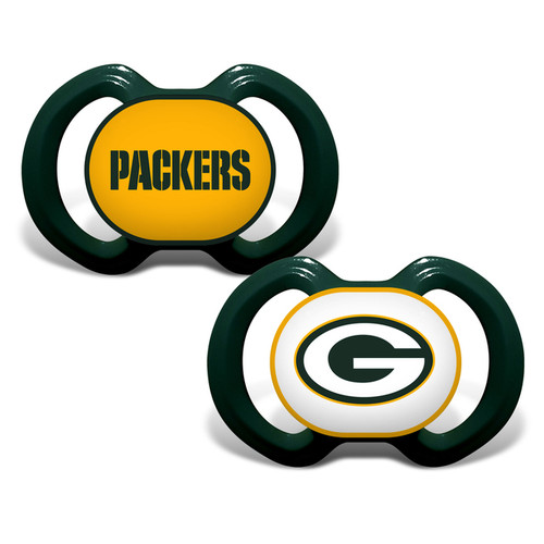 Green Bay Packers Pacifier 2 Pack