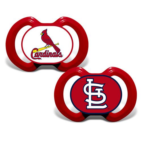St. Louis Cardinals Pacifier 2 Pack