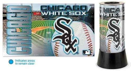 Chicago White Sox Lamp Rotating Desk Style