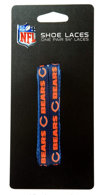 Chicago Bears Shoe Laces 54 Inch