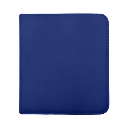 Ultra Pro 12 Pocket Pro Binder Zippered Blue