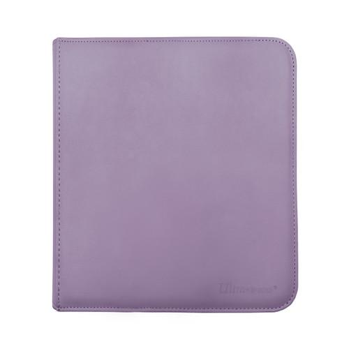 Ultra Pro 12 Pocket Pro Binder Zippered Purple