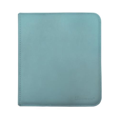 Ultra Pro 12 Pocket Pro Binder Zippered Light Blue