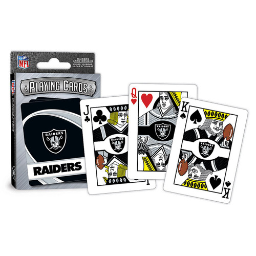 Las Vegas Raiders Playing Cards Logo