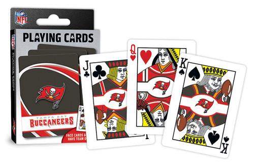 Tampa Bay Buccaneers Playing Cards Logo