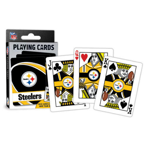 Pittsburgh Steelers Playing Cards Logo