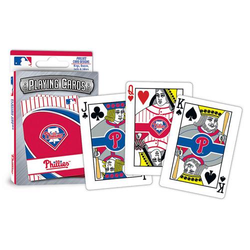 Philadelphia Phillies Playing Cards Logo